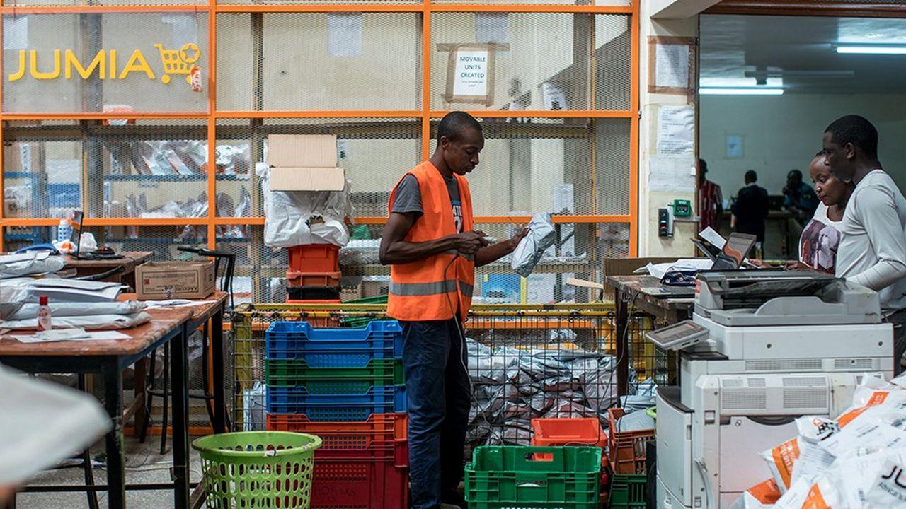 Jumia a compté 4millions de clients en 2018 dans 14 pays en Afrique.