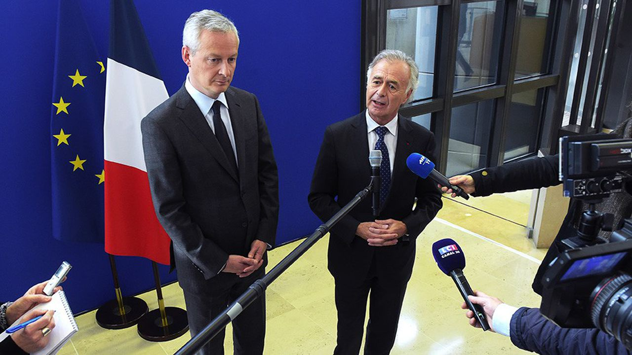 Bruno Lemaire a reçu Philippe Petitcolin pour lui demander d'implanter ses usines en France