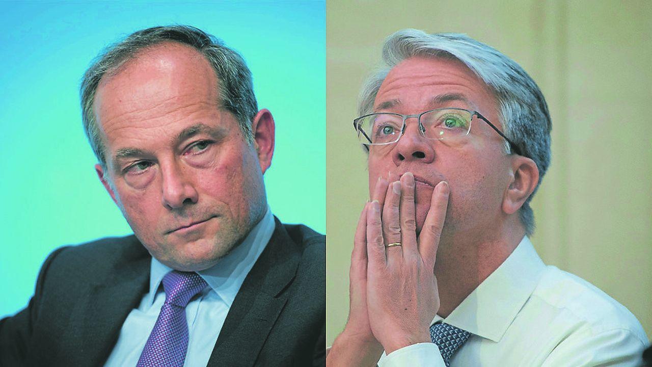 Frédéric Oudéa et Jean-Laurent Bonnafé se sont vus attribuer respectivement un salaire de 2.363.478euros et 3.314.889eurosau titre de 2018.
