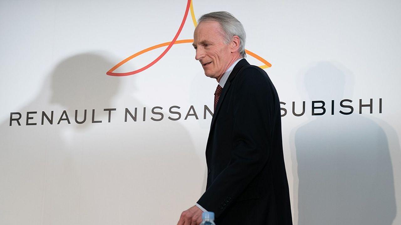 En fin diplomate, le nouveau président de Renault Jean-Dominique Senard a soigneusement évité les sujets qui fâchent lors de cette premièr étape.