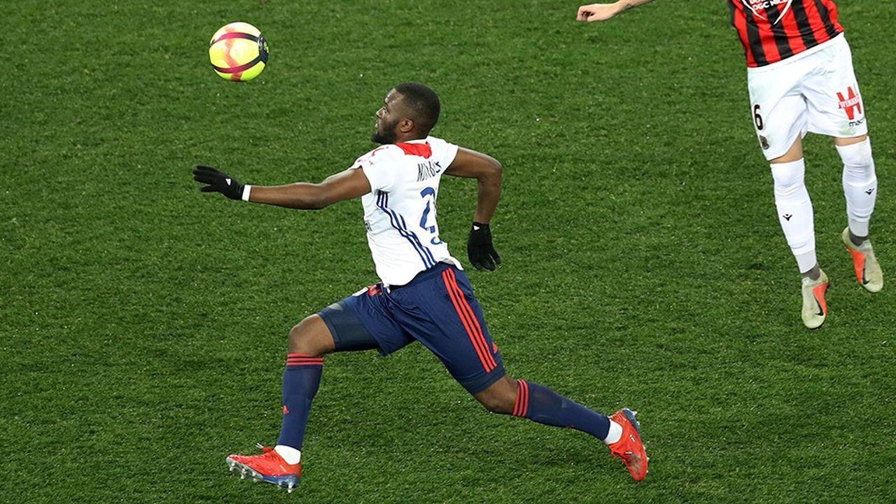 Tanguy Ndombele est l'un des espoirs de l'Olympique Lyonnais