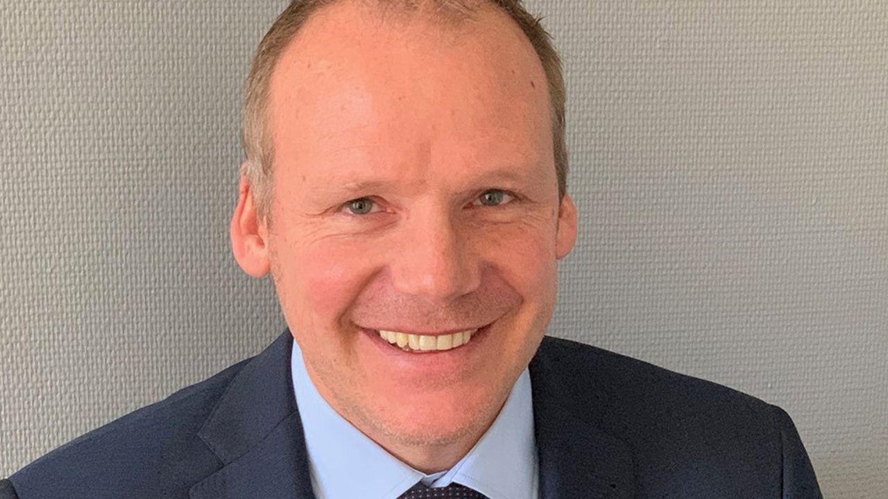 Nicolas Sordet, le président de la société Afyren, basée à Saint-Beauzire, en Auvergne.