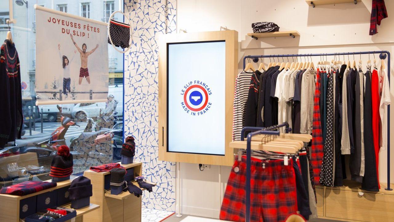 Créée en 2011 sur le web, a marque Le Slip Français ouvrira dans les prochains mois sa seizième boutique en France