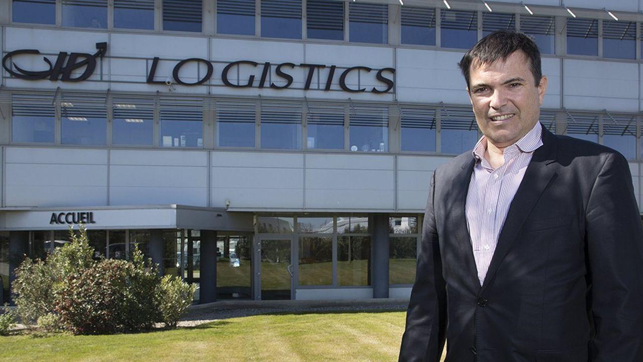 PDG et fondateur d'ID Logistics, Eric Hémar devrait être élu ce jeudi à la présidence de TLF pour un mandat de trois ans.