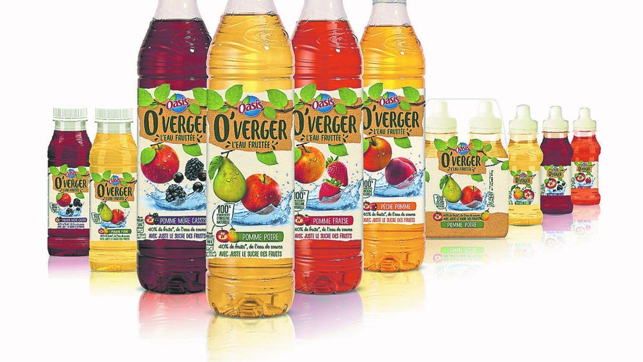 O'Verger est une eau fruitée différente des eaux aromatisées, entièrement naturelle, sans sucre ajouté, ni édulcorant. Sans colorant ni conservateur.