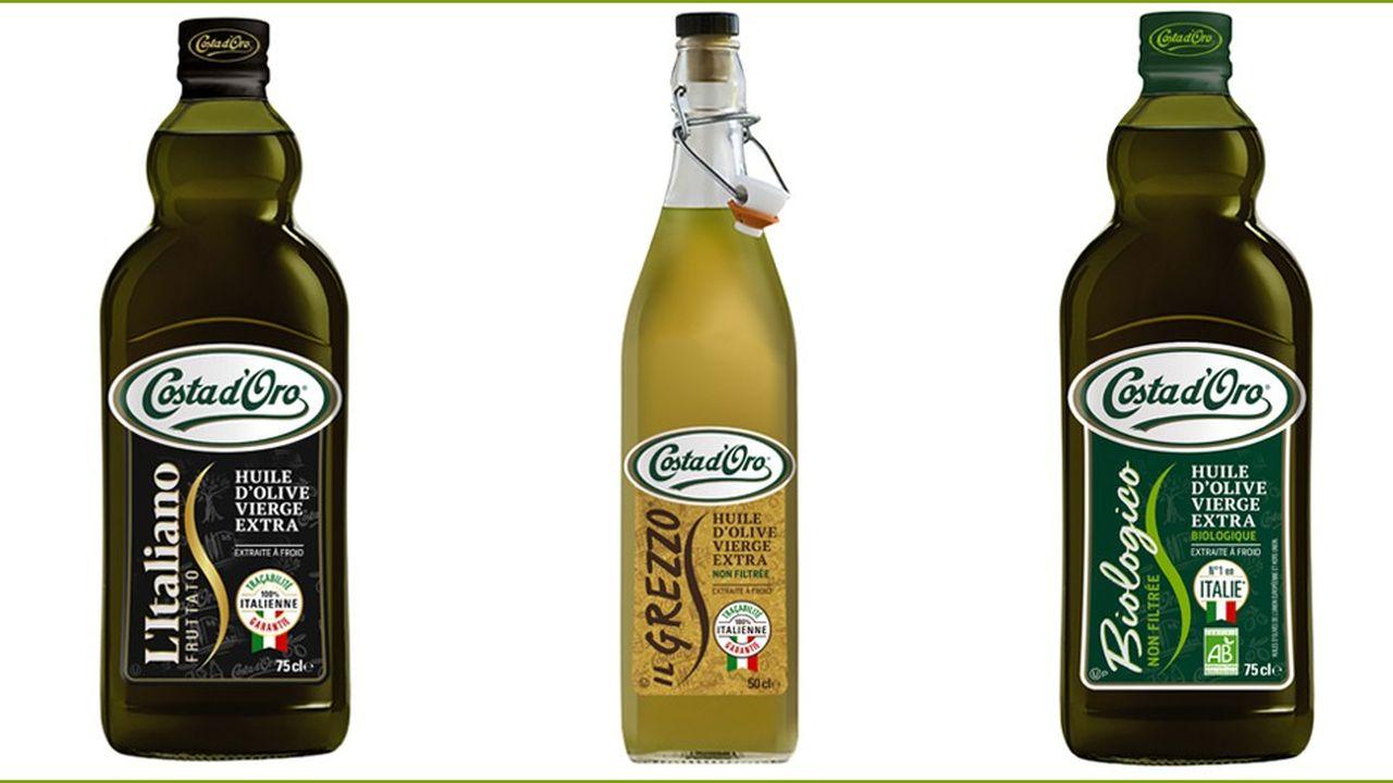 Avril a acquis pour sa division Lesieur l'entreprise familiale italienne Costa d'Oro, spécialisée dans l'huile haut de gamme en bouteille en 2018.