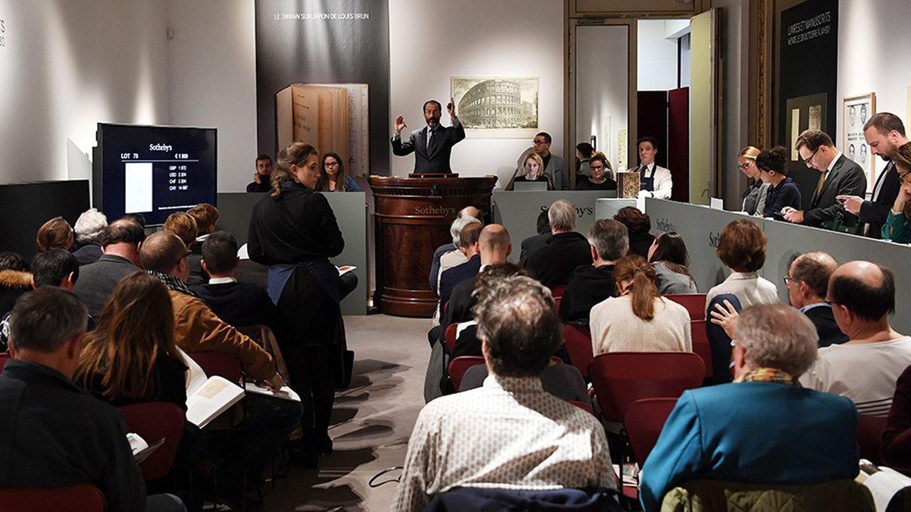 Dans l'art, Sotheby's reprend la tête des opérateurs d'enchères en France en 2018.