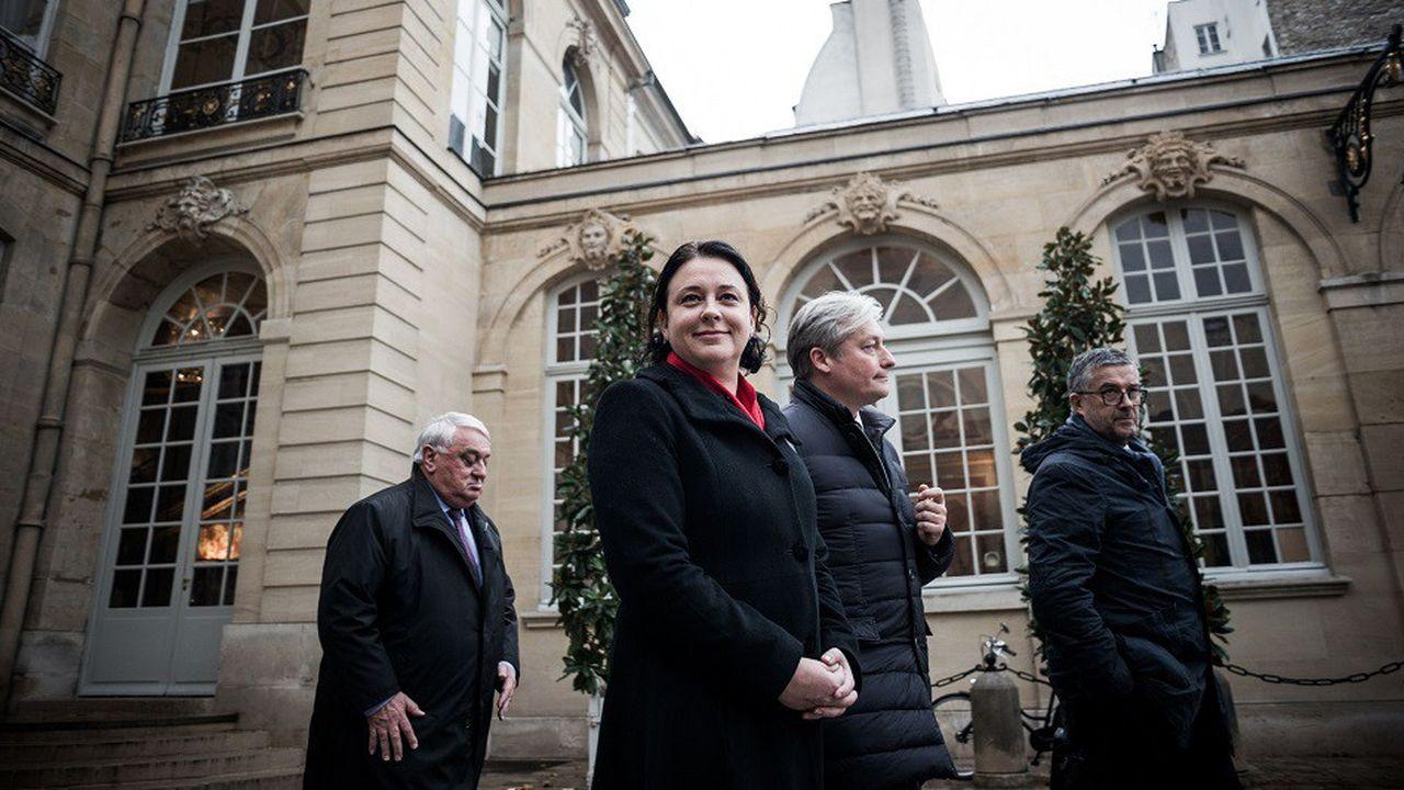 Sylvia Pinel lorsqu'elle a été reçue par le Premier Ministre le 3décembre 2018 à l'Hôtel de Matignon.