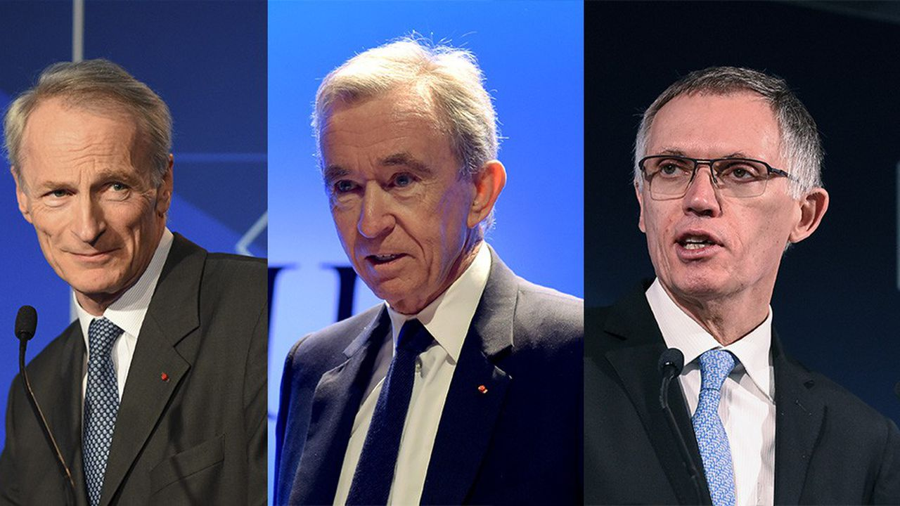 Jean-Dominique Senard (Renault), Bernard Arnault (LVMH) et Carlos Tavarès (PSA) arrivent entête du classement des patrons incarnant le mieux leur entreprise et délivrant une véritable vision stratégique.