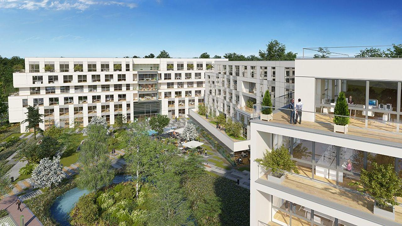 Le campus Eiffel Orsay est situé à 300 mètres de la future station de la ligne 18 du Grand Paris Express, prévue pour 2026.