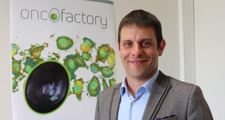 Frédéric Berget, le PDG de la jeune société innovante OncoFactory.