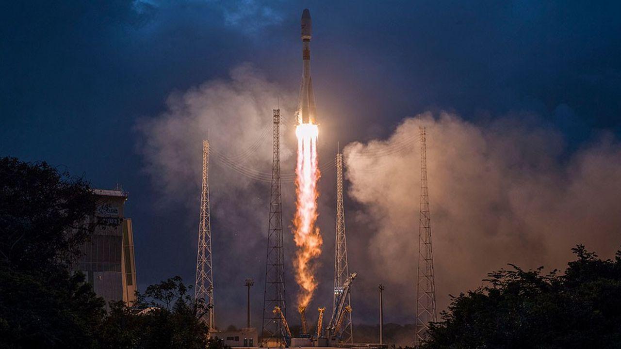 La fusée Soyouz a mis sur orbite les six premiers satellites de la constellation OneWeb le 27février. Vingt autres lancements sont prévus.