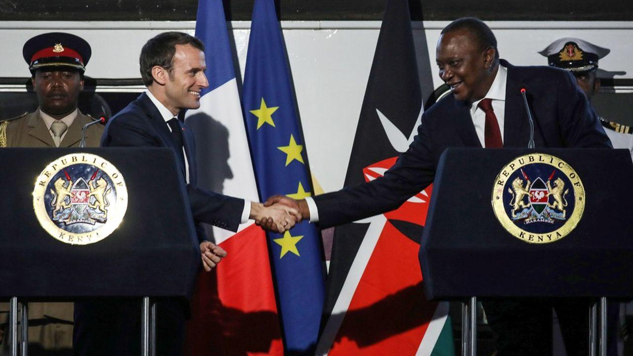 Meridiam a décroché un contrat de 1,6 milliard d'euros avec Vinci pour la construction d'une autoroute au Kenya (Photo by Ludovic MARIN / AFP)