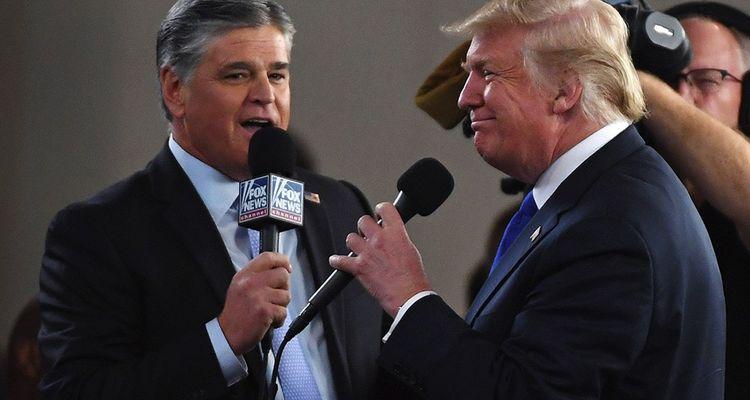 Entre Sean Hannity et Donald Trump, les liens sont affectifs