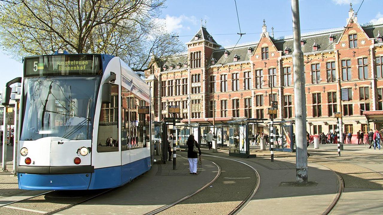 Amsterdam, aux Pays-Bas, est l'une des villes les mieux classées dans l'indice Cities in Motion.