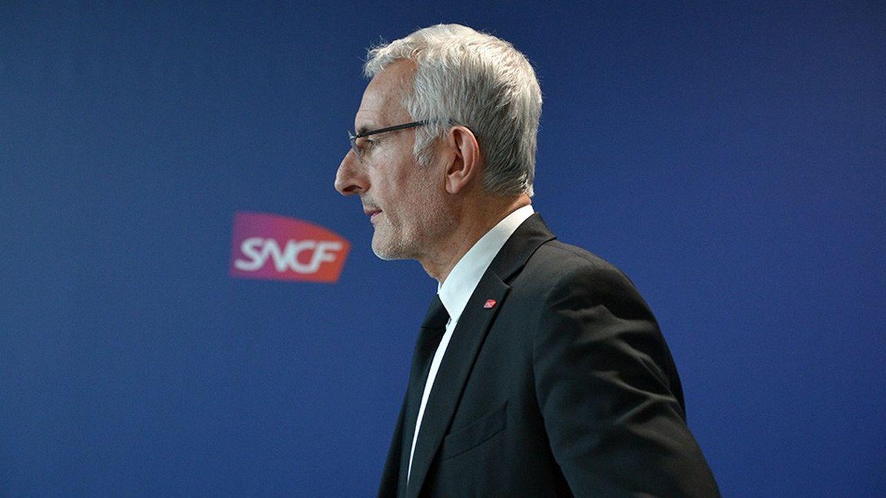 Guillaume Pepy est à la tête de la SNCF depuis 2008