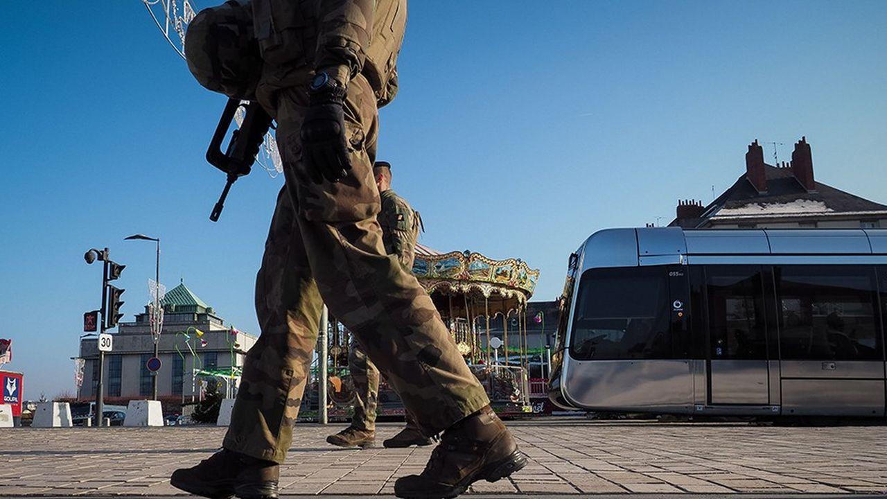 La mission antiterroriste militaire Sentinelle sera mobilisée de manière «renforcée» samedi dans le cadre des manifestations des «gilets jaunes».