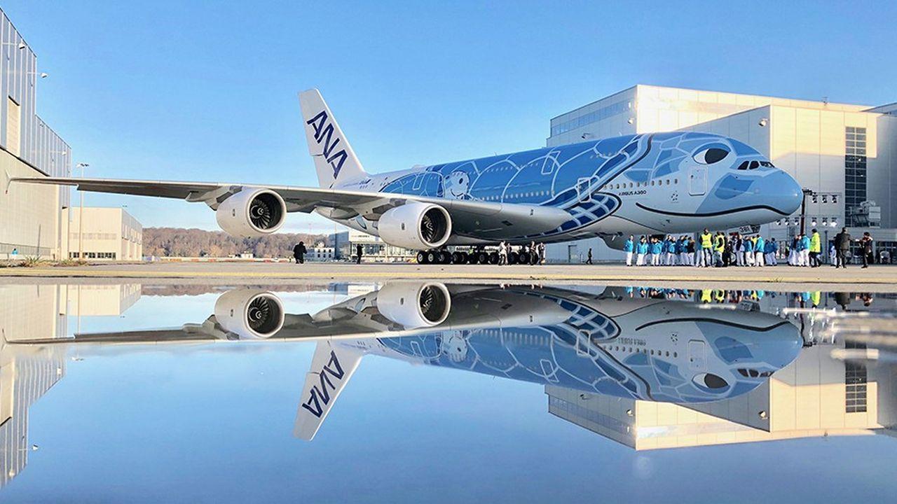 ANA sera la première compagnie japonaise à exploiter l'A380 et le dernier nouveau client du très gros porteur d'Airbus.