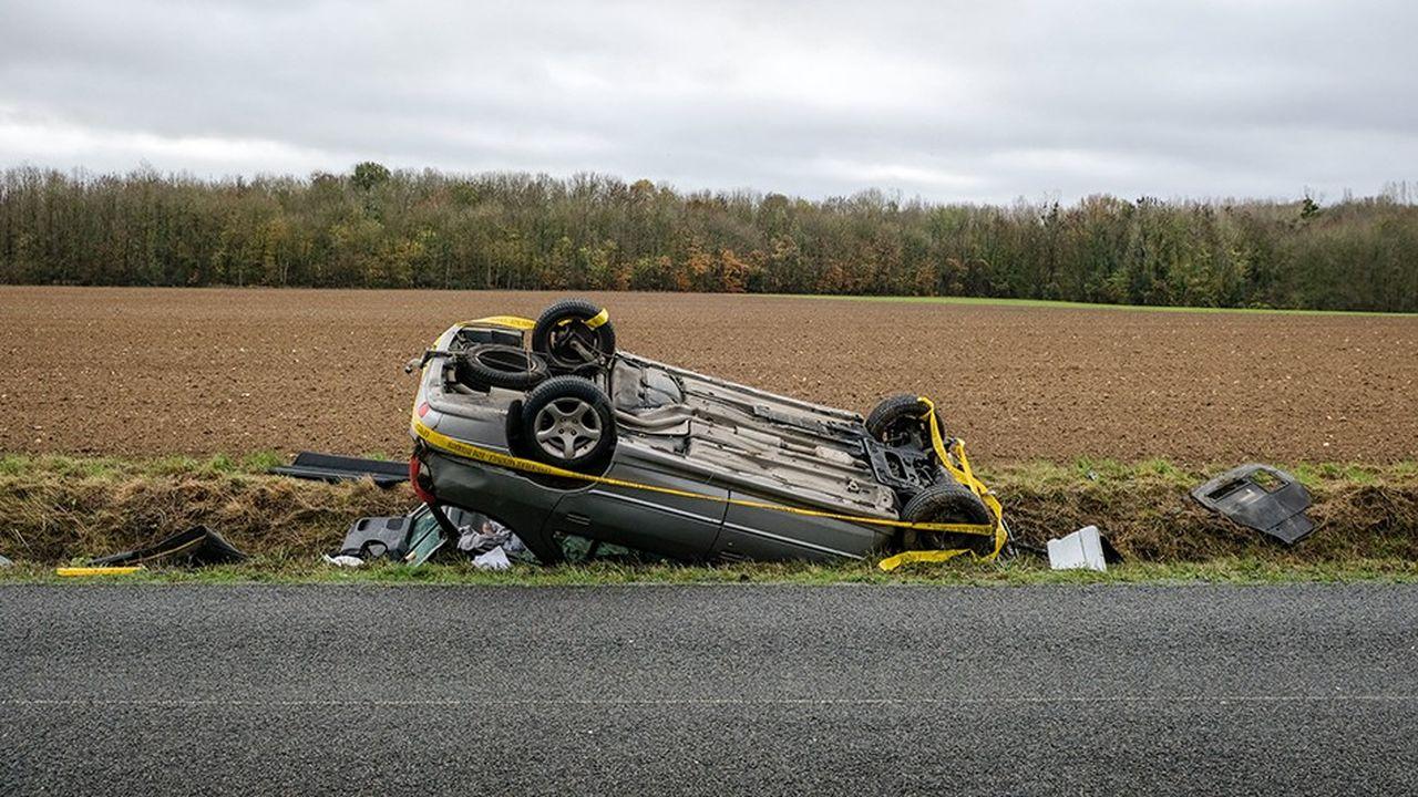 L'an dernier, les accidents causés par des conducteurs non assurés ou ayant pris la fuite ont fait 9.518 blessés et 109 morts en France.