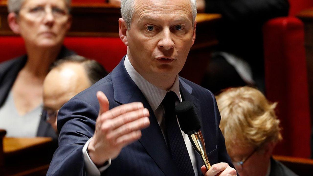 Pour Bruno Le Maire «il peut y avoir des mesures qui seraient demandées dans le cadre de cette fusion qui pourraient aussi servir nos intérêts financiers français.»