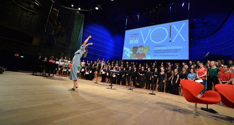 Vox, la chorale interactive proposée par Radio France
