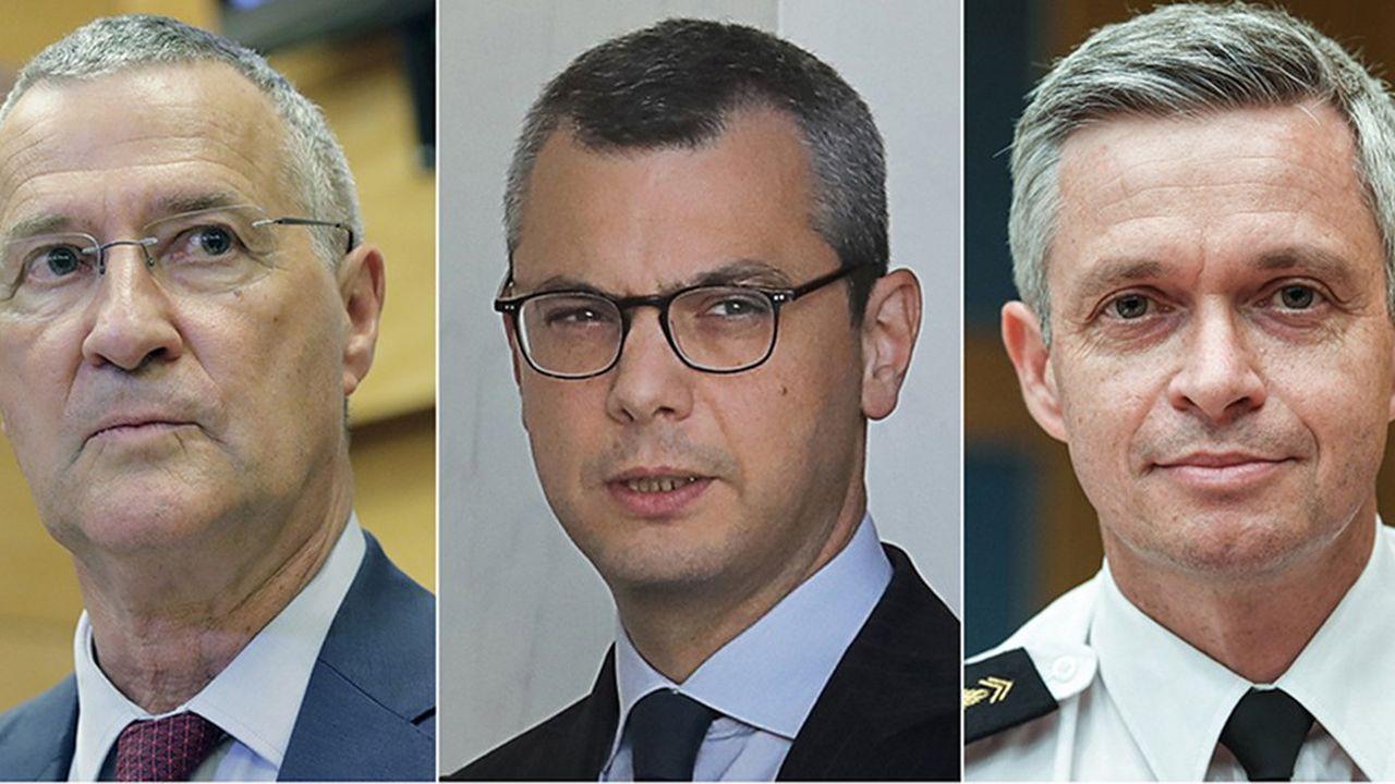 Patrick Strzoda, Alexis Kohler et le colonel Lionel Lavergne.