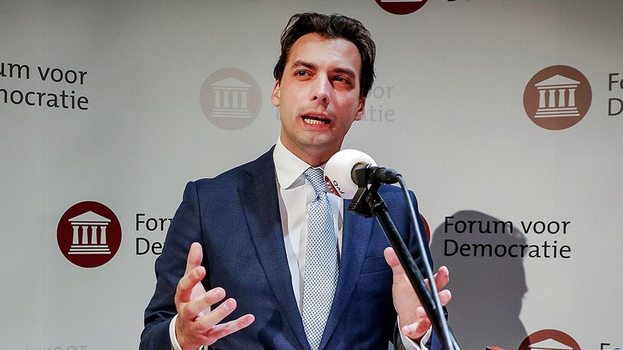 Thierry Baudet, chef de file du parti populiste néerlandais Forum pour la démocratie.