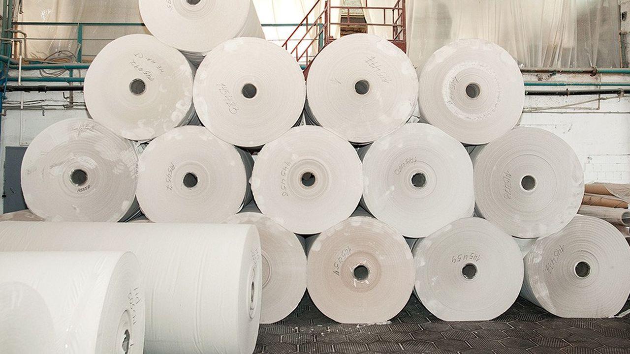La production de papiers à usage graphique est en recul dans l'Hexagone