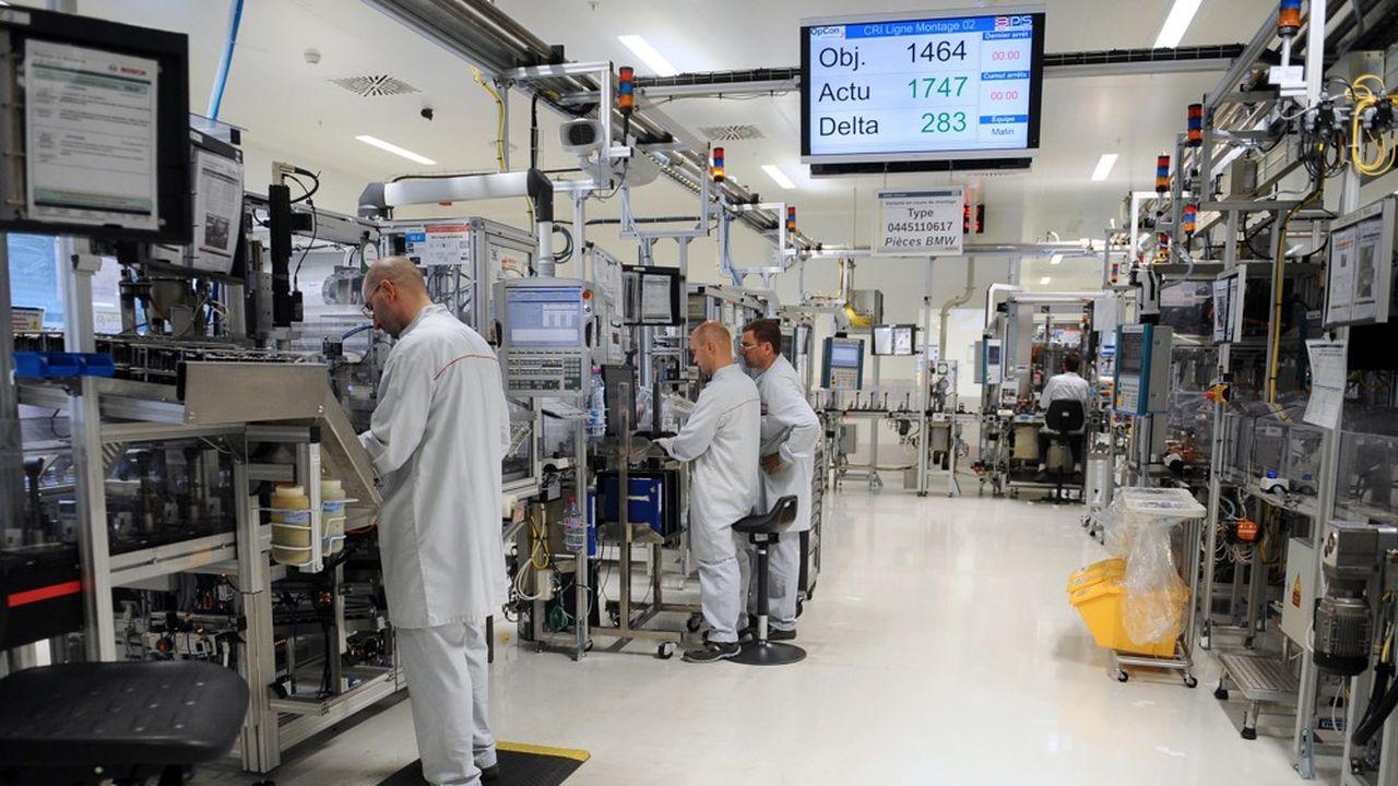 Bosch, qui compte une usine à Rodez dédiée au diesel, doit gérer la chute de cette technologie, dont dépendent 50.000 des 400.000 emplois du groupe.