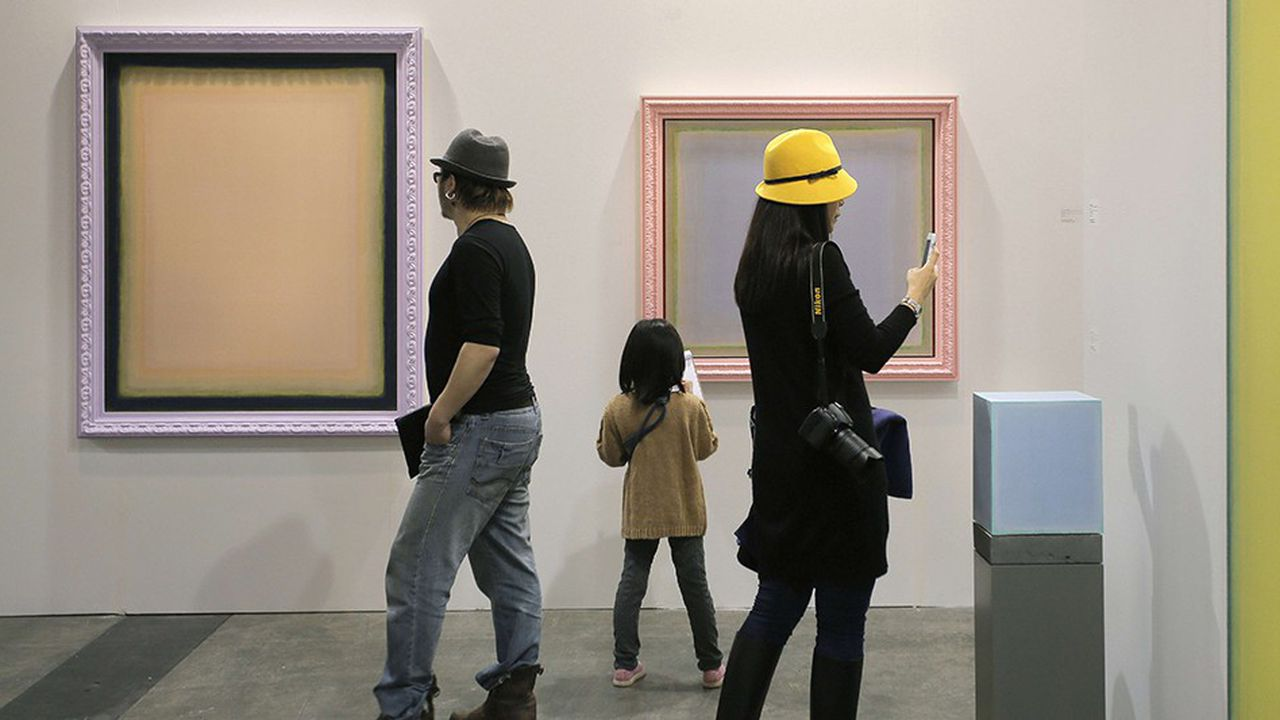 Art Basel Hong-Kong, la foire leader pour l'art contemporain en Chine.