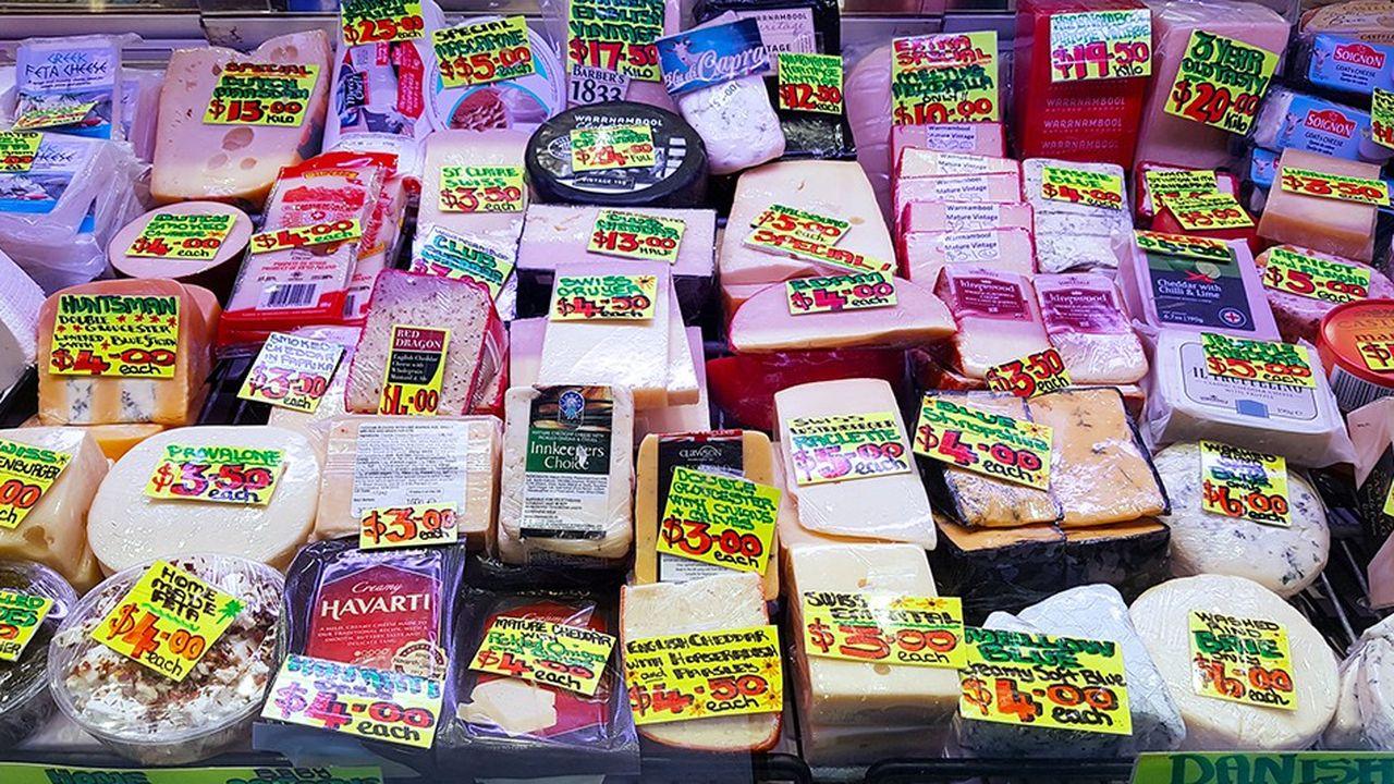 En Australie, on trouve en magasin du camembert, du brie, de la feta, de la mozzarella sans aucune difficulté. Mais la plupart de ces produits sont fabriqués localement.
