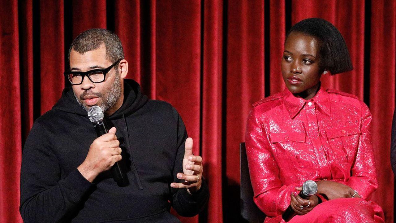 Jordan Peele et Lupita Nyong'o, l'actrice principale du film «Us», font un carton dans les salles américaines