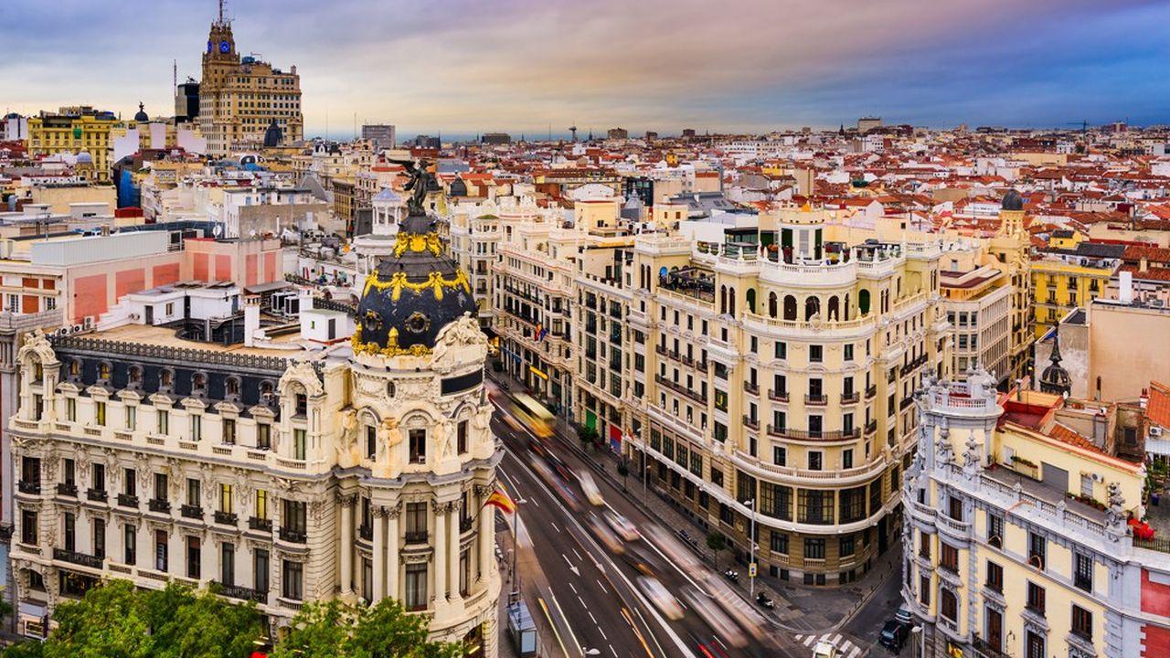 Madrid a attiré 85% des investissements vers'Espagne en 2018 pendant que la Catalogne est en perte de vitesse