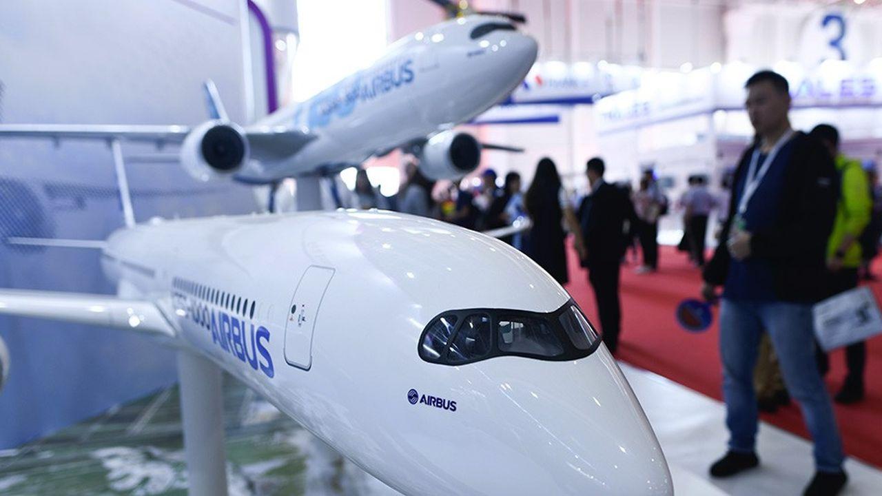 La Chine est le premier marché d'Airbus qui y compte désormais trois usines d'assemblage pour ses avions et des hélicoptères.