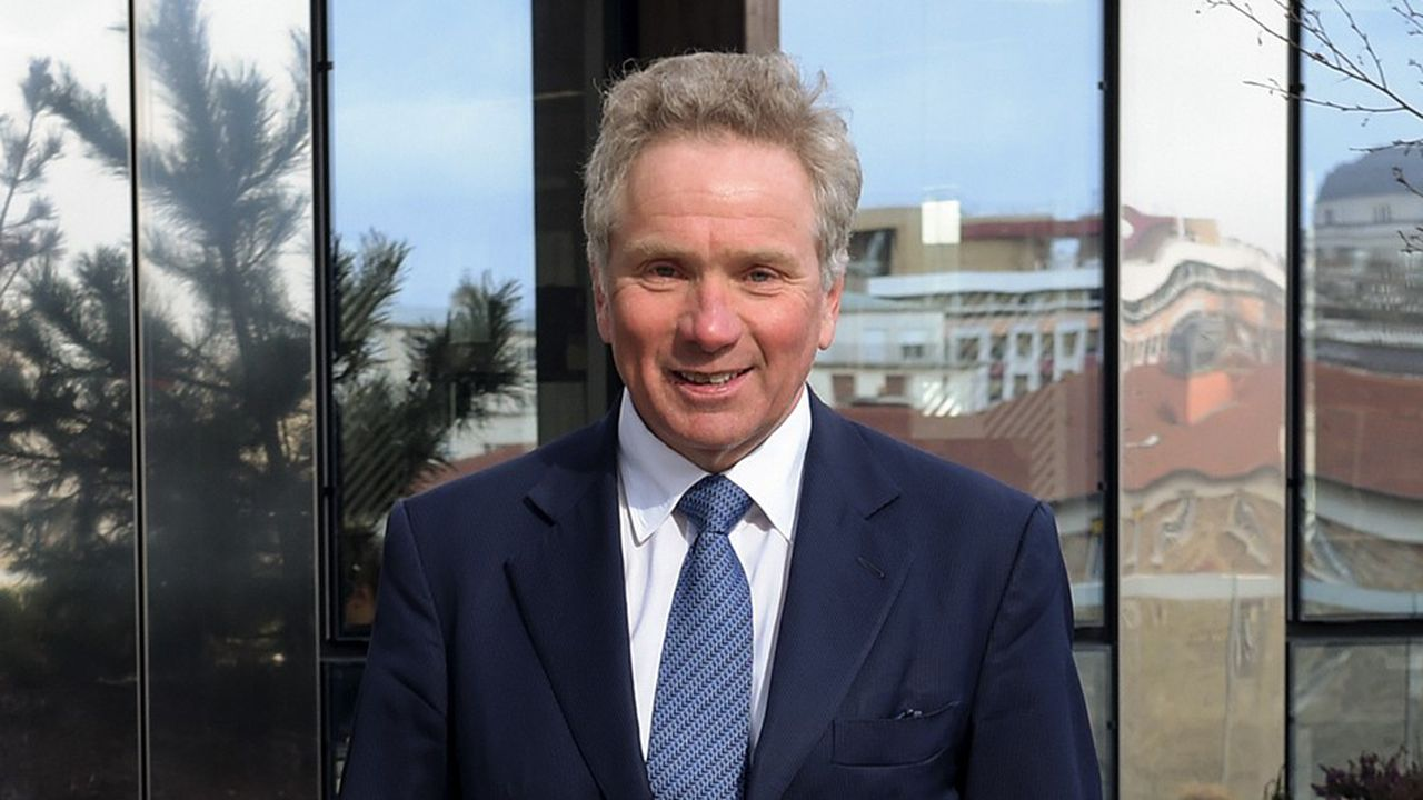 Jean Raby, directeur général de Natixis Investment Managers