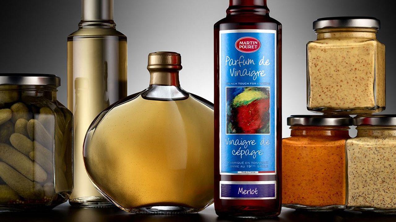 Martin Pouret a développé des vinaigres de cépage comme lechardonnay ou le merlot.