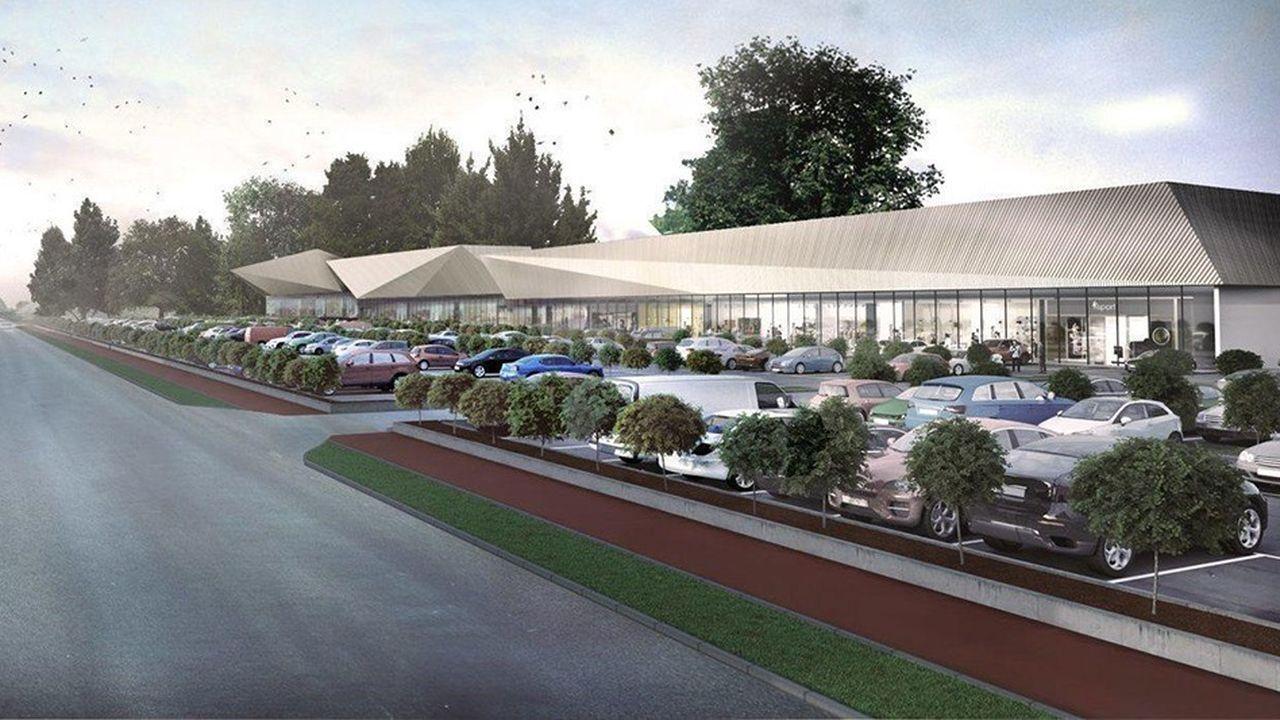La nouvelle galerie marchande fait 12.000 mètres carrés.