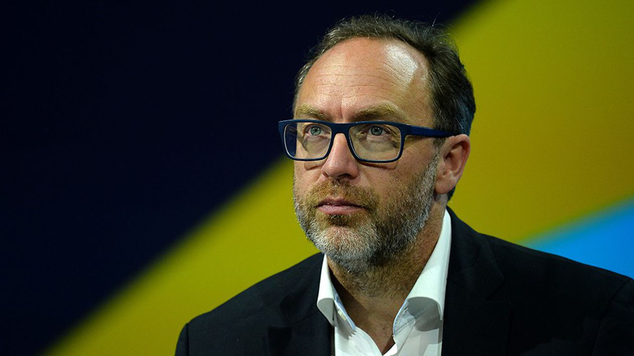 Jimmy Wales, co-fondateur de l'encyclopédie Wikipedia.
