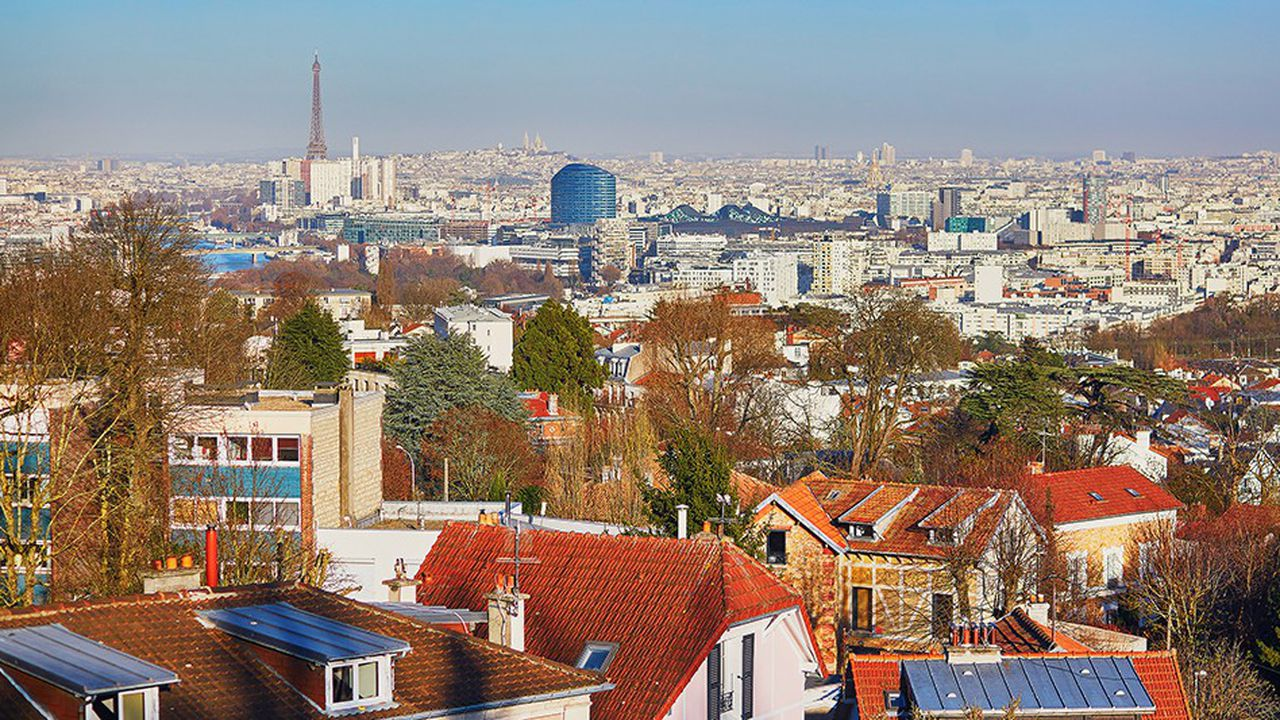 En périphérie parisienne, le rythme de construction assigné dans le cadre du Grand Paris ne peut être atteint qu'en sacrifiant les zones pavillonnaires ou à faible densité.