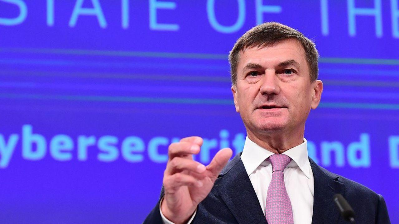 L'Europe doit s'inquiéter des lois chinoises sur le renseignement, selon le vice-président de la Commission européenne, Andrus Ansip.