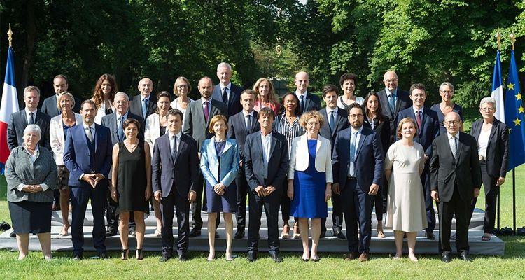 La photo officielle du gouvernement Philippe 2