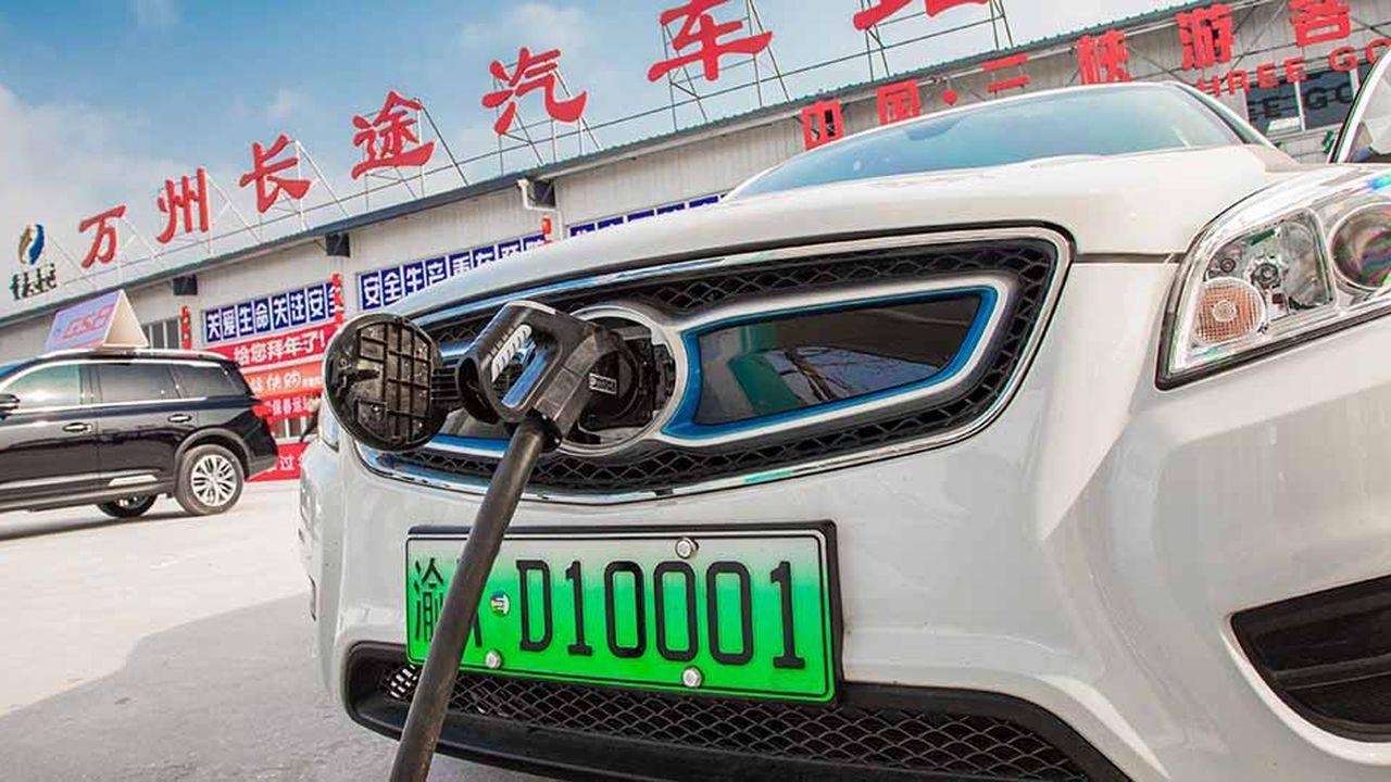Inexistante dans le domaine de la voiture électrique il y a dix ans, la Chine s'arroge désormais la moitié des ventes mondiales