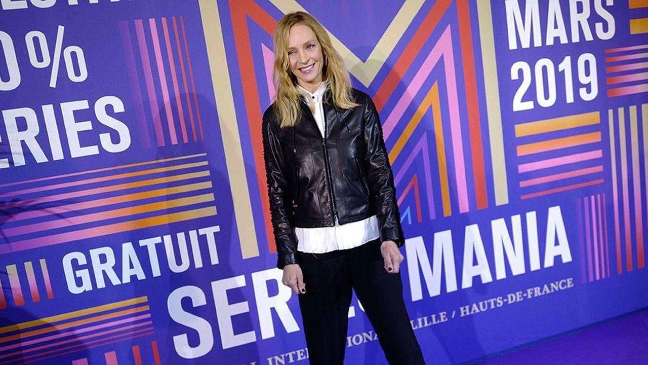 Uma Thurman était présente à Séries Mania à Lille pour «Chambers» de Netflix.