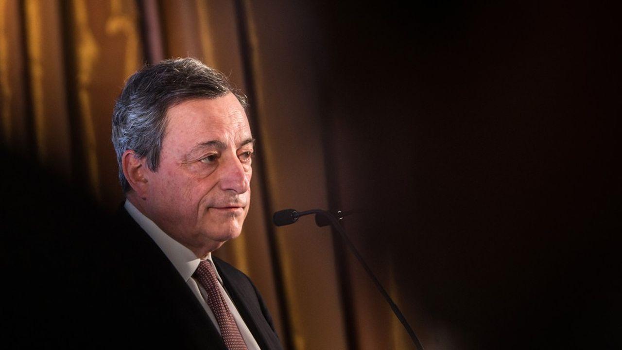 Mario Draghi a confirmé que la BCE était attentive à l'impact potentiel des taux négatifs sur la profitabilité des banques.