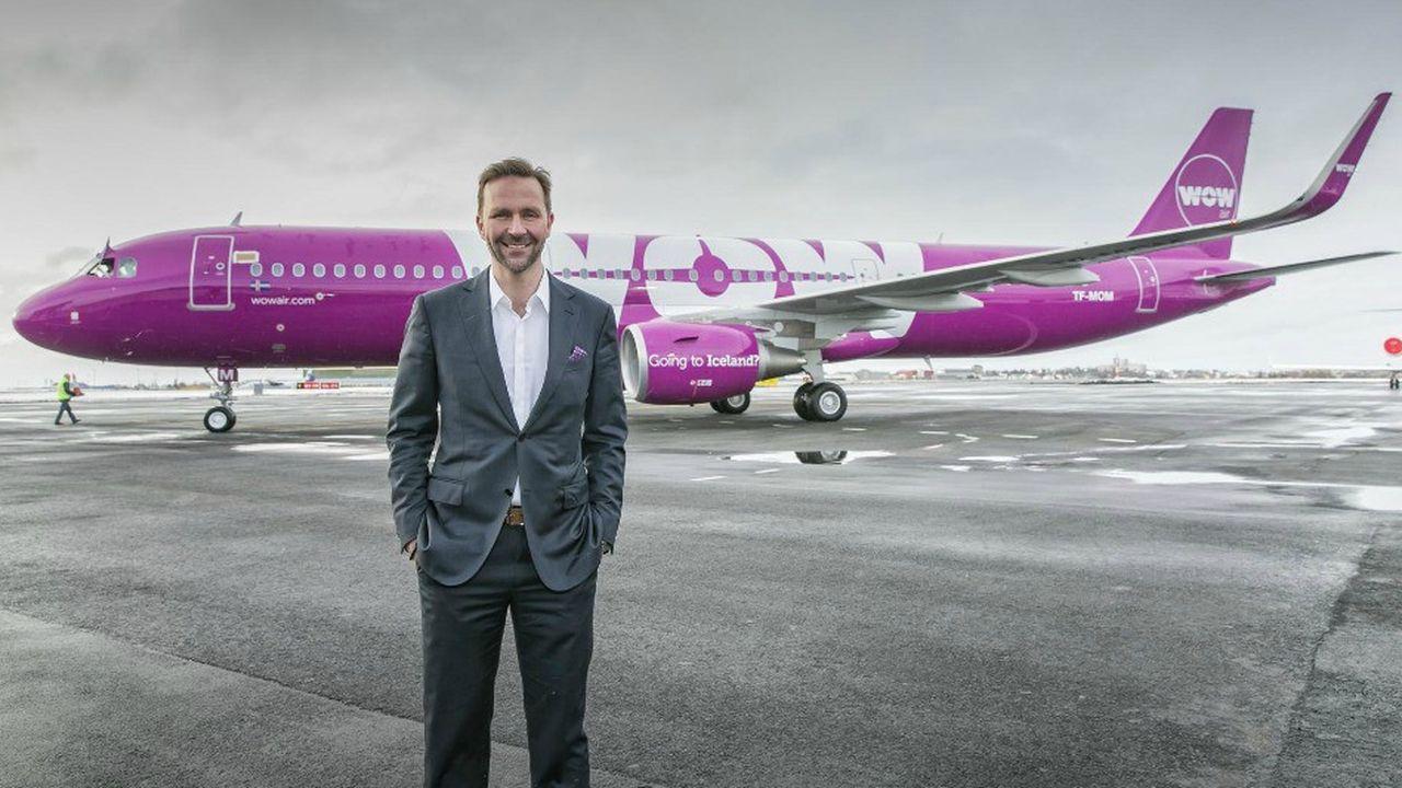 Le PDG de Wow Air, Skulli Mogensen, n'est pas parvenu à convaincre des investisseurs de sauver sa compagnie.