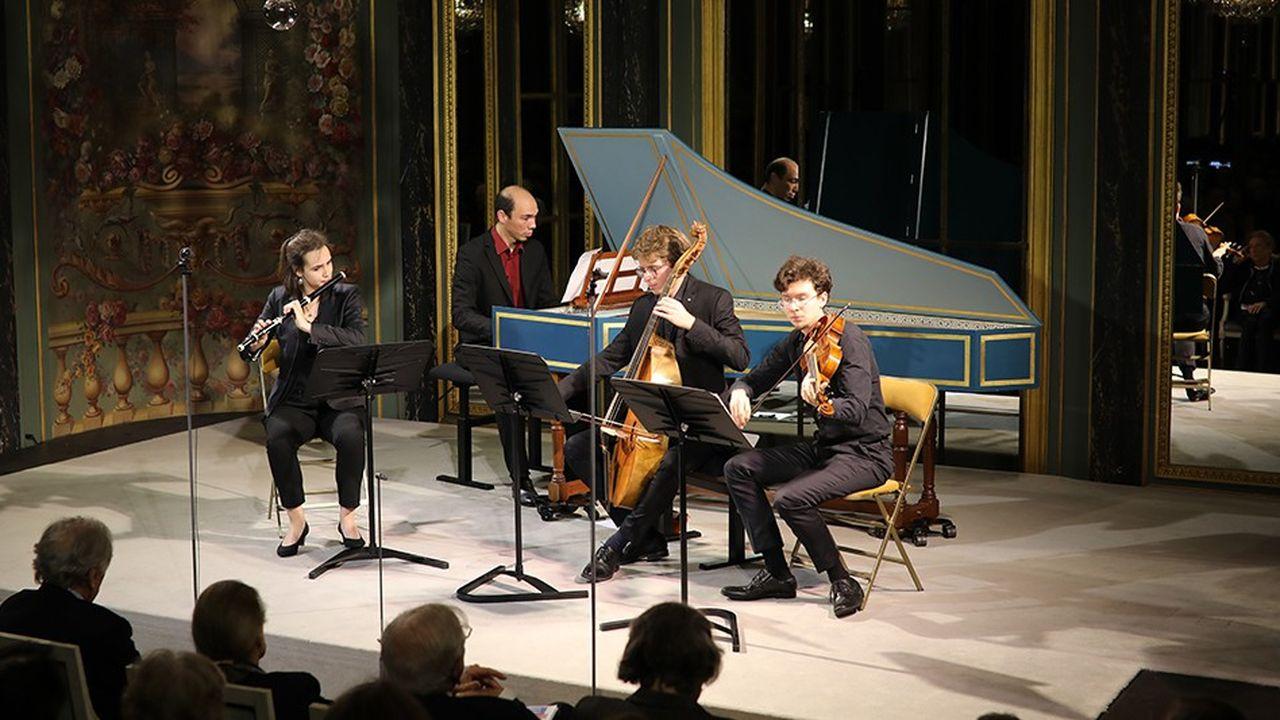 Chapelle Harmonique: concert du 6décembre 2018 dans le salon de musique de la Fondation Singer-Polignac