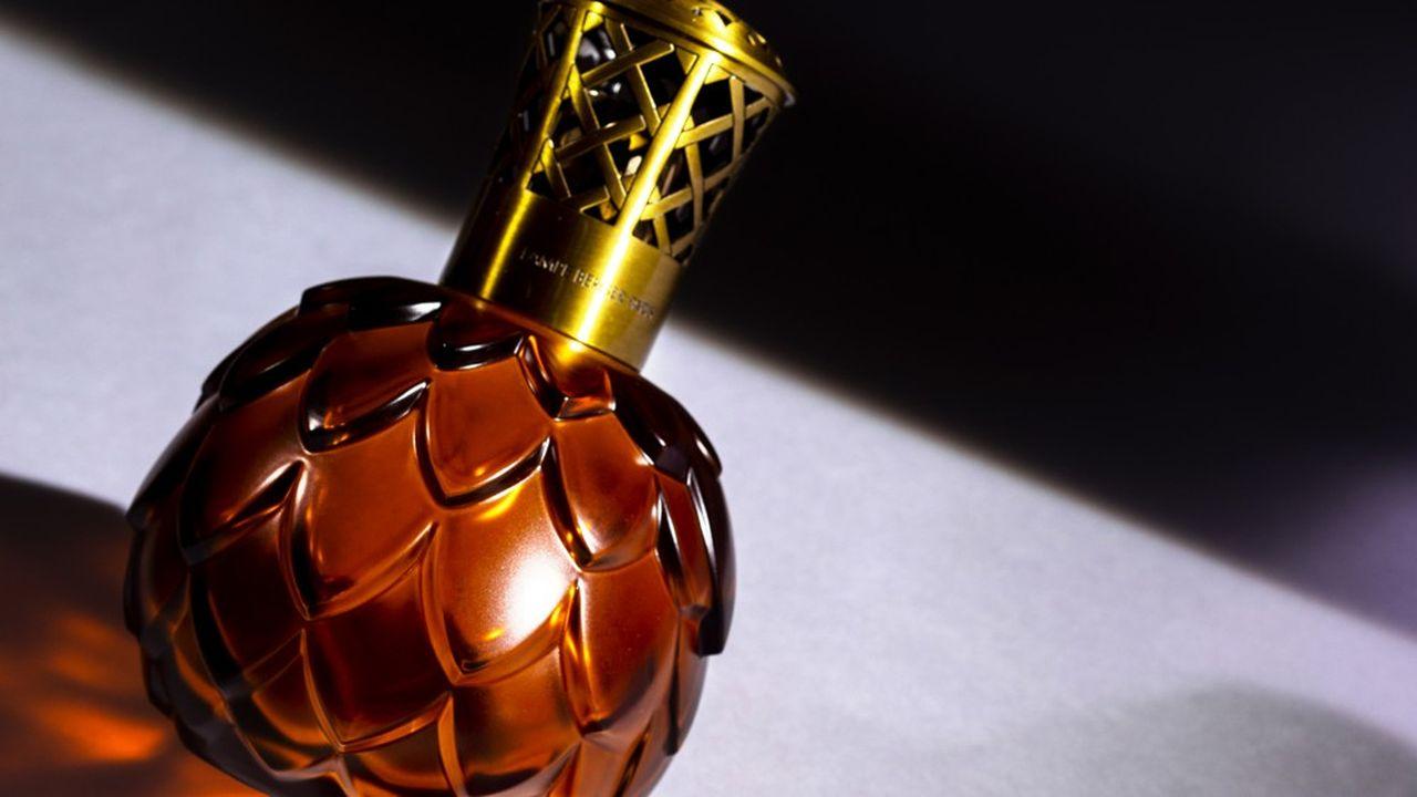 Maison Berger vend800.000 lampes par an et 5 millions de litres de parfum.