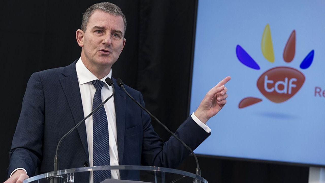 Le PDG de TDF, Olivier Huart, a engagé le gestionnaire de pylônes dans l'aventure de la fibre optique