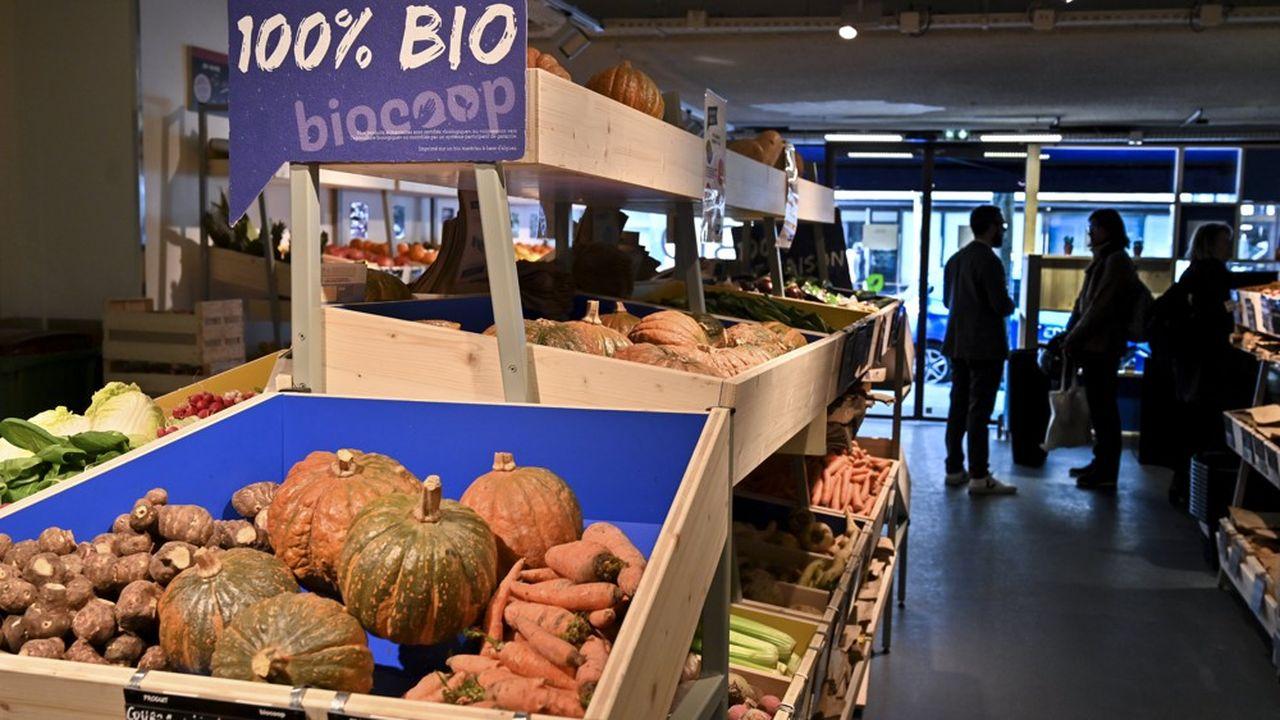 Les ventes des 560 Biocoop ont progressé de 11% en 2018.
