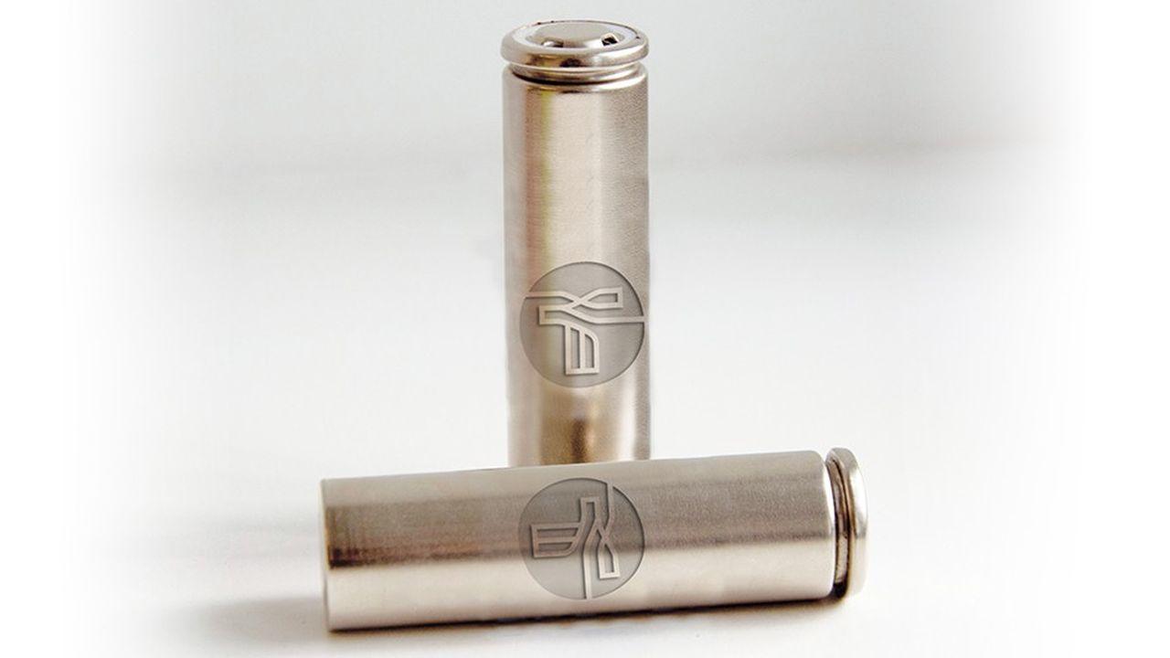 Les cellules Lithium-Sodium de Tiamat sont homologuées et entrent dans le format industriel 18650 (18 mm de diamètre, 650 mm de hauteur).